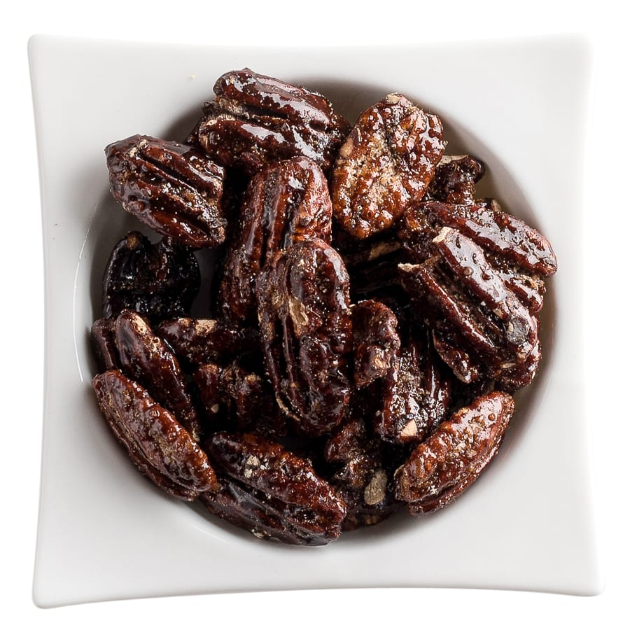 Home / Nuts / Glazed Nuts / Honey Glazed Pecans