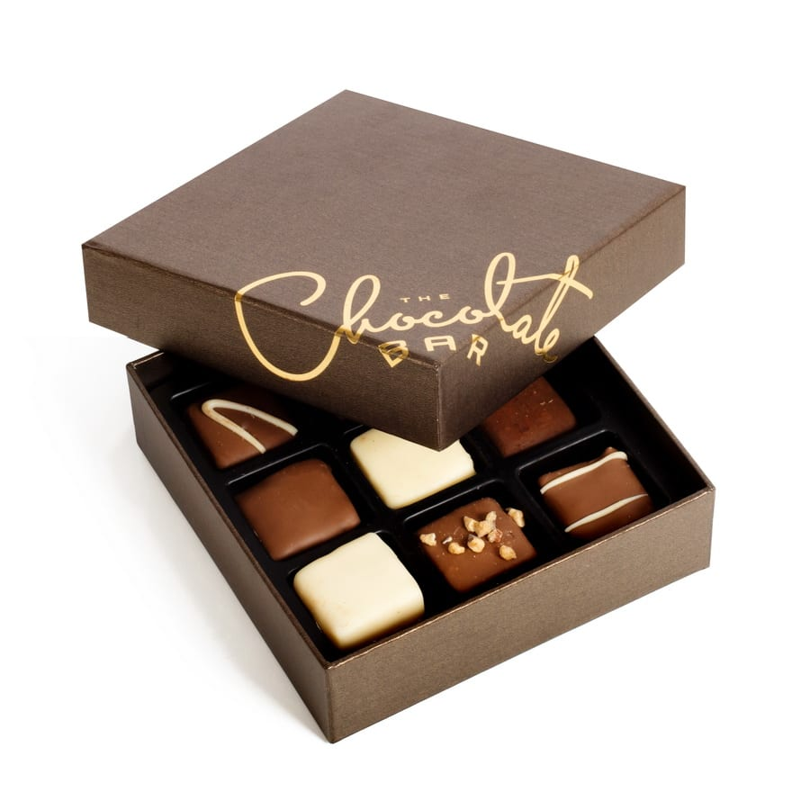 Gift boxes for chocolate : Signature belgian chocolate gift box dairy the