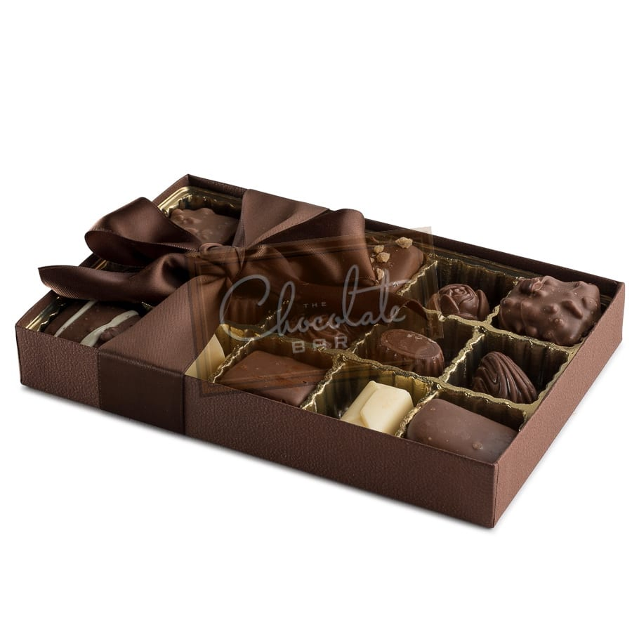 Belgian Chocolate Collection Gift Box 4 piece (dairy) | The ...