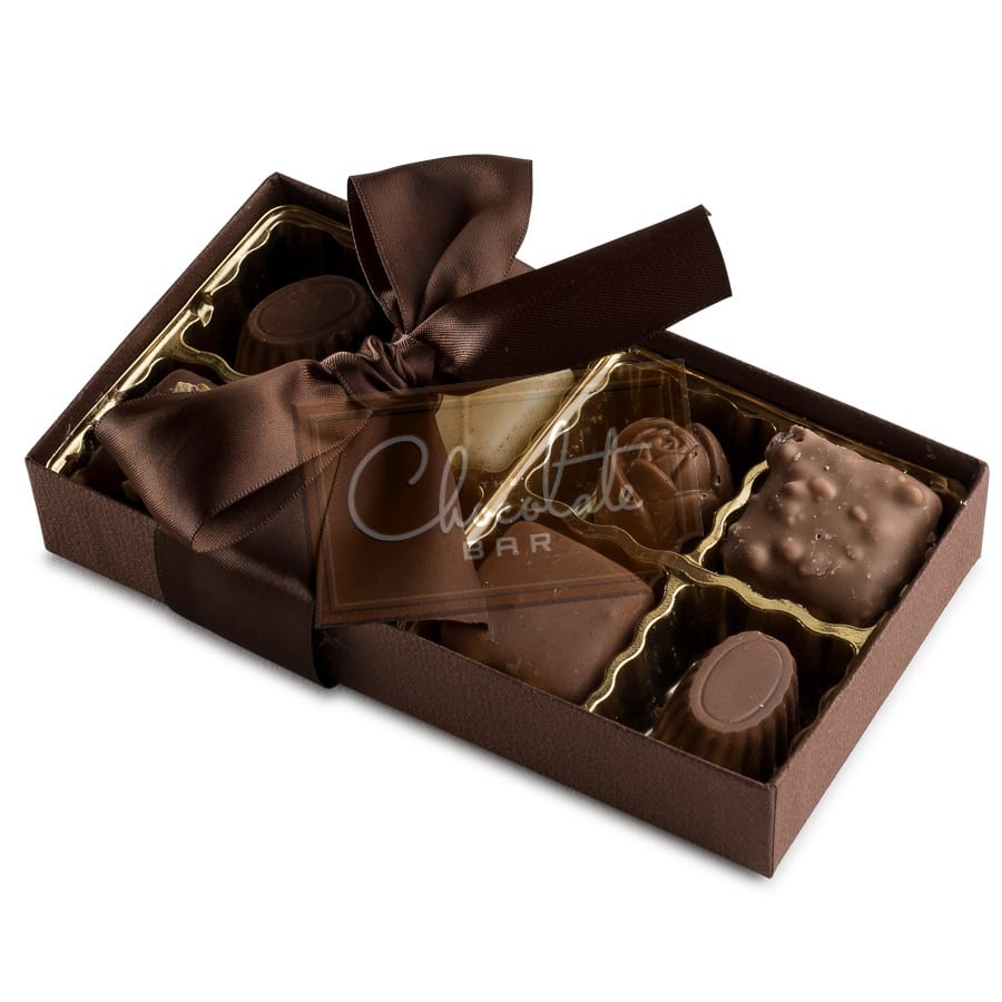 Belgian Chocolate Collection Gift Box 8 piece (dairy) | The ...