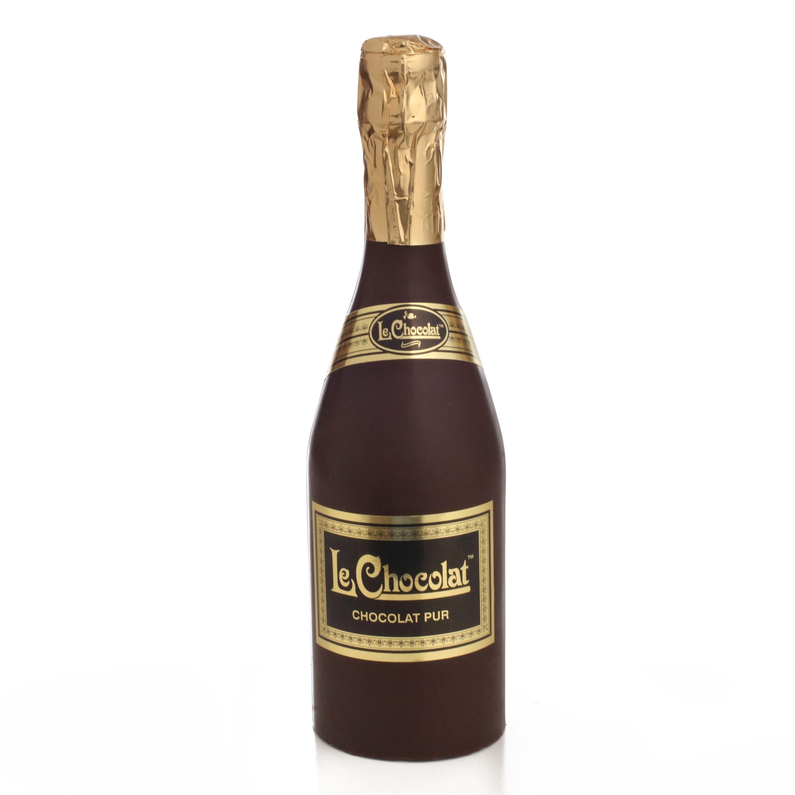 Belgina Chocolate Wine Bottle (dairy) | The Chocolate Bar